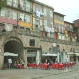The Ribeira is lined with cafes & restaurants & fab views of Vila Nova de Gaia
