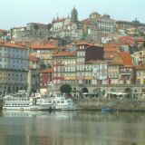 The world famous riverfront view of Porto - absolutely stunning!