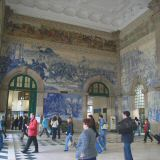 If for no other reason take the train to see the azulejos at Sao Bento train station