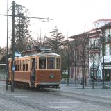 Only 2 lines of the old tram system run through Porto now, see more at the Tramcar Museum