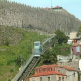 The funicular is a fun way to get to the top of the hill to the cathedral